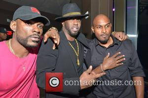 Dj Steve J, Sean 'diddy' Combs and Michael Gardner