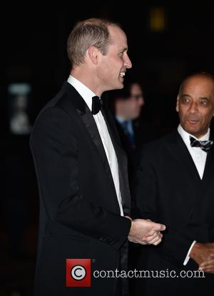 Prince William arriving at the Tusk Conservation Awards being held at the Victoria and Albert Museum - London, United Kingdom...