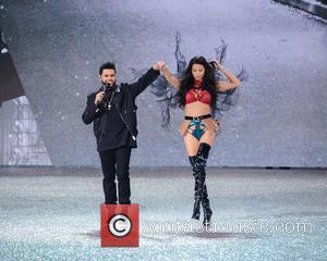 The Weeknd and Adriana Lima