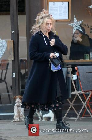 Helena Bonham Carter spotted out and about in North London, United Kingdom - Wednesday 30th November 2016