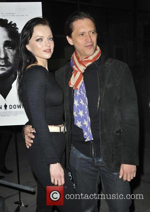 Francesca Eastwood and Clifton Collins Jr.