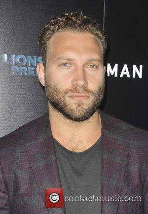 Jai Courtney, Shia LaBeouf and Kate Mara seen at the film Premiere of 'Man Down' held in Los Angeles, California,...