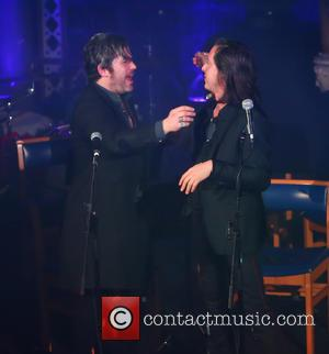 Carl Barat and Ed Harcourt