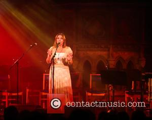 Singer Charlotte Church performs at the Union Chapel as part of The Flying Seagull Project's benefit concert for child refugees...