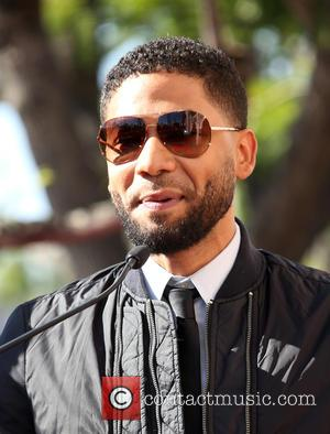 Jussie Smollett seen at Lee Daniels star ceremony. Daniels Was Being Honored With His Own Star On The Hollywood Walk...