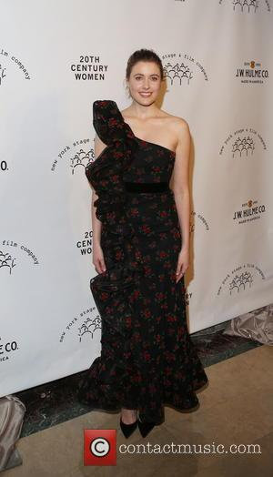 Greta Gerwig seen at the New York Stage and Film Winter Gala, this year the gala honoured Annette Bening and...