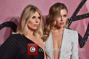 Abbey Clancy and Karen Sullivan