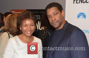 Dede Lea and Denzel Washington