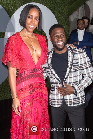 Kelly Rowland and Kevin Hart