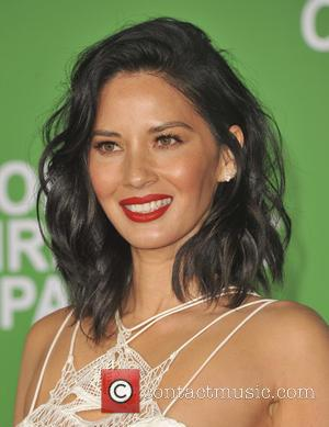 Olivia Munn at the Premiere of Paramount Pictures' 'Office Christmas Party' held at Regency Village Theatre, Westwood, California, United States...