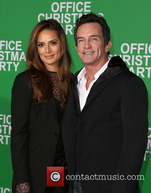 Jeff Probst and Lisa Ann Russell