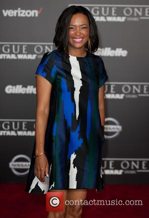 Aisha Tyler at the World premiere of 'Rogue One: A Star Wars Story' held at Pantages Theatre, Los Angeles, California,...