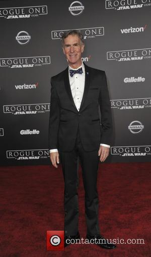 Bill Nye at the World premiere of 'Rogue One: A Star Wars Story' held at Pantages Theatre, Los Angeles, California,...
