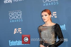 Bella Thorne at the 22nd Annual Critics' Choice Awards held at Barker Hangar, Critics' Choice Awards - Santa Monica, California,...