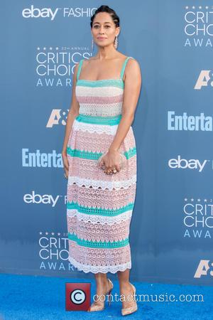 Tracee Ellis Ross at the 22nd Annual Critics' Choice Awards held at Barker Hangar, Critics' Choice Awards - Santa Monica,...