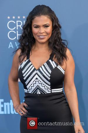 Nia Long at the 22nd Annual Critics' Choice Awards held at Barker Hangar, Critics' Choice Awards - Santa Monica, California,...