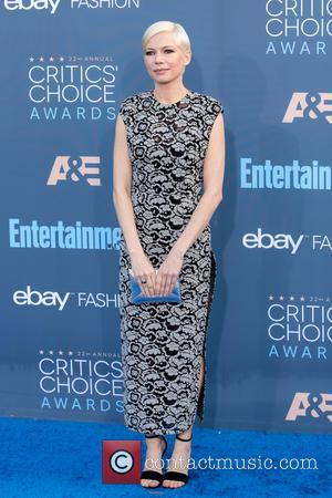 Michelle Williams at the 22nd Annual Critics' Choice Awards held at Barker Hangar, Critics' Choice Awards - Santa Monica, California,...