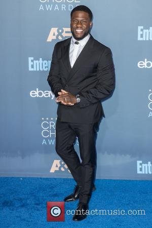 Kevin Hart at the 22nd Annual Critics' Choice Awards held at Barker Hangar, Critics' Choice Awards - Santa Monica, California,...