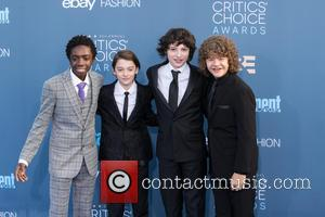 Caleb Mclaughlin, Noah Schnapp, Finn Wolfhard and Gaten Matarazzo