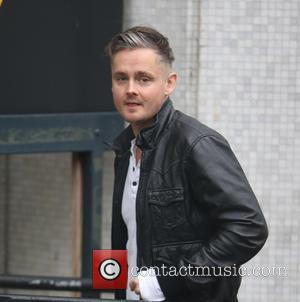 Keane frontman Tom Chaplin outside ITV Studios - London, United Kingdom - Tuesday 13th December 2016