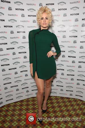 Pixie Lott at the re-launch party of 'Notion Magazine' held at The Holy Birds, Middlesex Street, London, United Kingdom -...