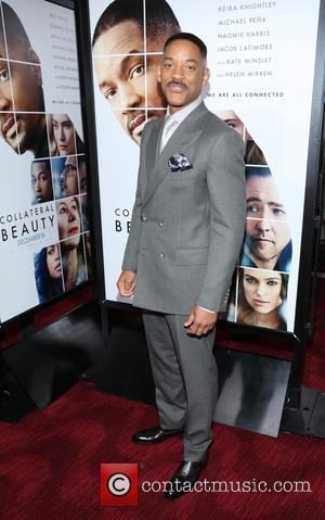 Will Smith seen at the premiere of Collateral Beauty held at   Jazz at Lincoln Center's Frederick P. Rose...