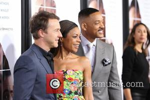 Ed Norton, Naomie Harris and Will Smith