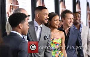 Helen Mirren, Ed Norton, Naomie Harris and Will Smith