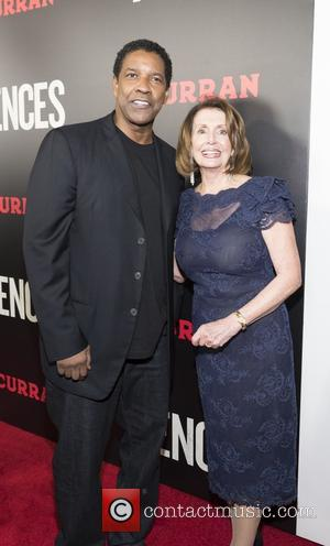 Denzel Washington and Nancy Pelosi