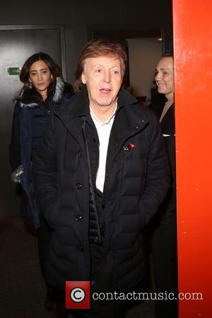 Sir Paul McCartney at the pre-cocktail party and screening for - 'This Beautiful Fantastic' held at SVA Theatre, New York,...