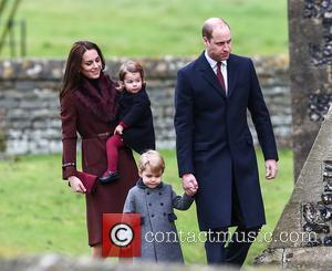 Prince William Brings George Along For First Day Of School
