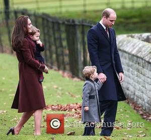 Prince William, Duke Of Cambridge, Catherine Duchess Of Cambridge, Kate Middleton, Prince George and Princess Charlotte