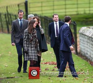 Pippa Middleton, Carole Middleton, James Matthews, Michael Middleton and James Middleton