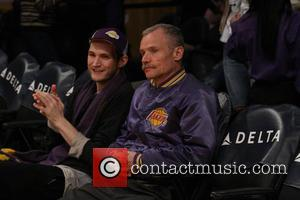 Celebrities including Flea attend the Lakers game. The Utah Jazz defeated the Los Angeles Lakers by the final score of...