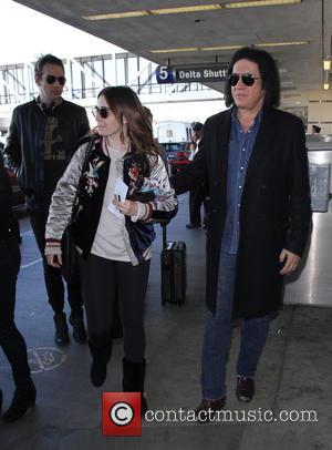 Gene Simmons, Nick Simmons and Sophie Simmons