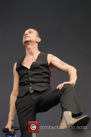 Dave Gahan of Depeche Mode performs at the Queen Elizabeth Olympic Park at The London Stadium - London, United Kingdom...