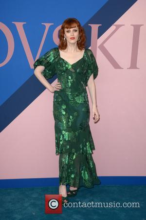 Karen Elson at the 2017 CFDA  Awards held at Hammerstein Ballroom - New York, United States - Tuesday 6th...