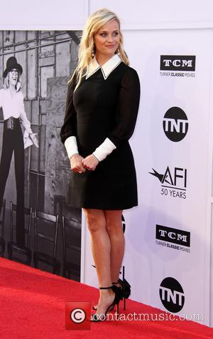 Reese Witherspoon at the American Film Institute's Lifetime Achievement Awarded to Diane Keaton. The event was held at the Dolby...