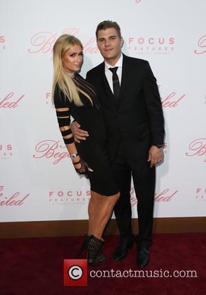 Paris Hilton and Chris Zylka