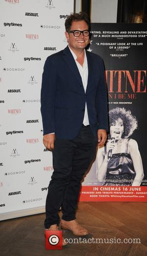 Alan Carr at the 'Whitney: Can I Be Me' screening held at The May Fair Hotel - London, United Kingdom...