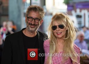 David Baddiel and Morwenna Banks at the 'Hampstead' Film Premiere - London, United Kingdom - Wednesday 14th June 2017