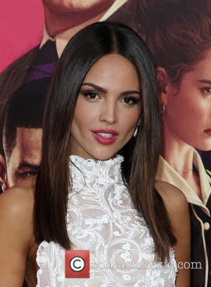 Eiza Gonzalez and Lily James at the L.A. premiere of Sony Pictures' 'Baby Driver' held at Ace Hotel - Los...