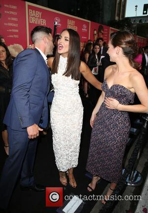 Jon Bernthal, Eiza Gonzalez and Lily James
