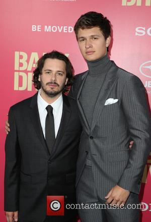 Edgar Wright and Ansel Elgort