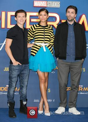 Tom Holland, Zendaya and Jon Watts