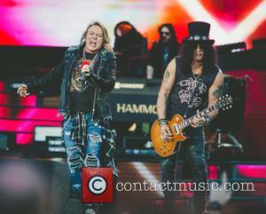Axl Rose, Guns N' Roses and Slash