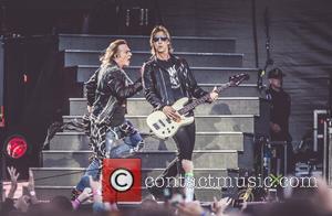 Axl Rose, Guns N' Roses and Duff Mckagan