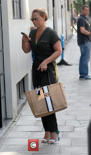 Kimberley Walsh - Kimberley Walsh arrives at The AOL Building for the Build Series - London, United Kingdom - Thursday...