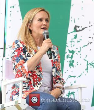 Samantha Bee at OZY Fest 2017 held at  Rumsey Playfield in central Park - New York, United States -...