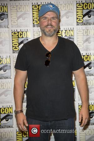 Tyler Labine at the San Diego Comic Con photocall for Dirk Gently's Holistic Detective Agency - San Diego, California, United...